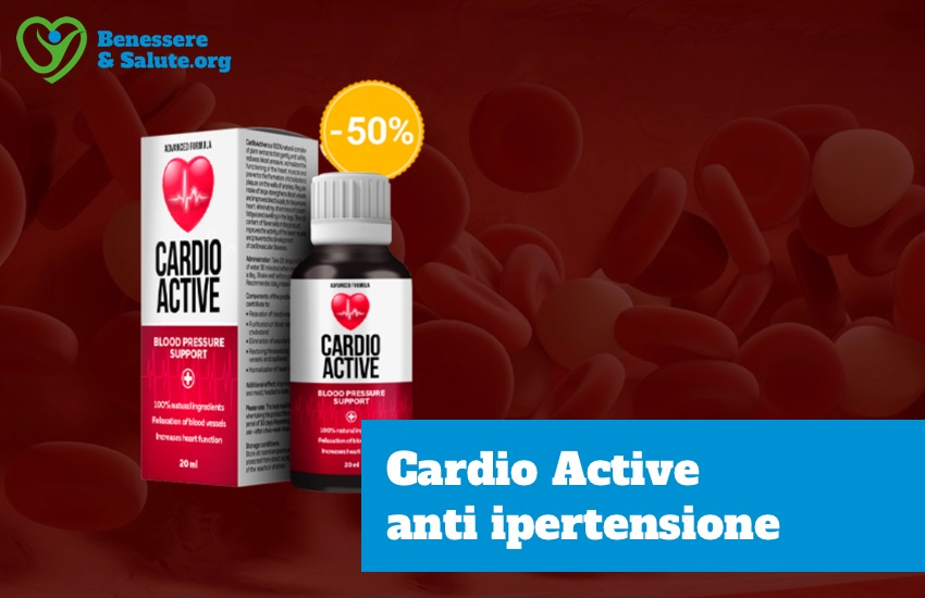 Cardio active integratore anti ipertensione