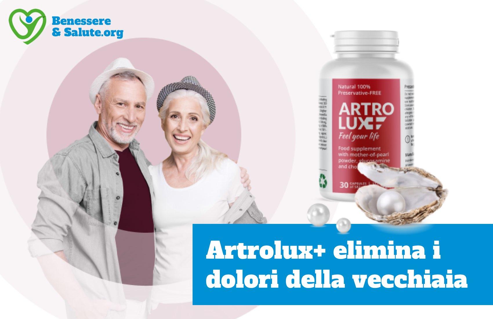 Artrolux elimina dolori vecchiaia