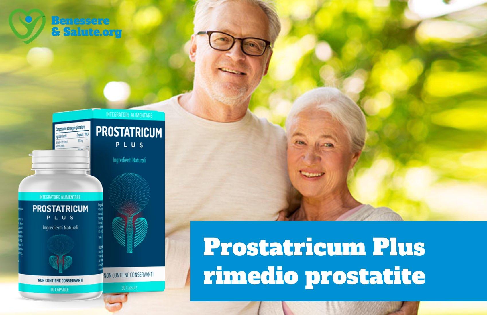 Prostatricum plus rimedio naturale prostatite