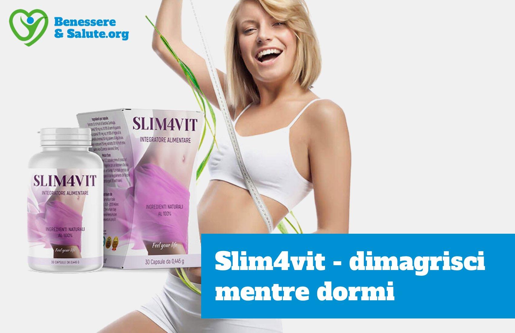 Slim4vit integratore dimagrimento