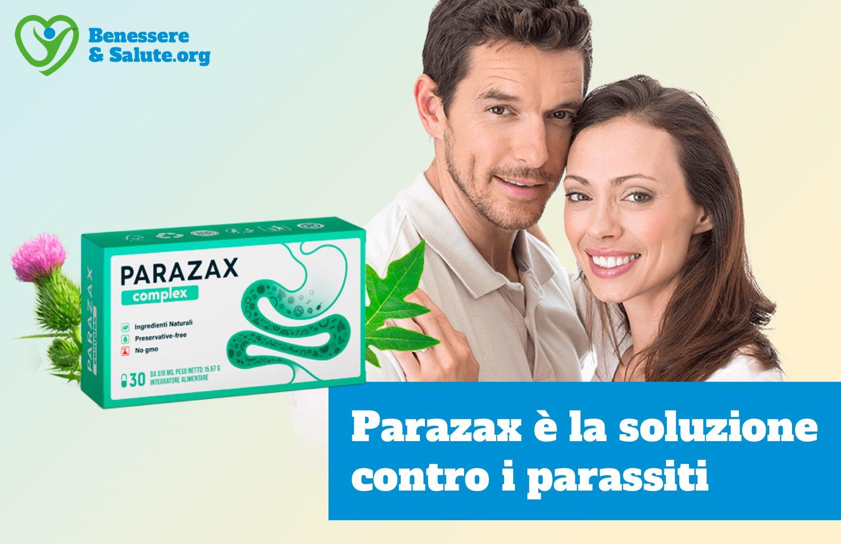 Parazax soluzione contro parassiti